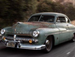 auto elektromobil 1949 Mercury EV Derelict
