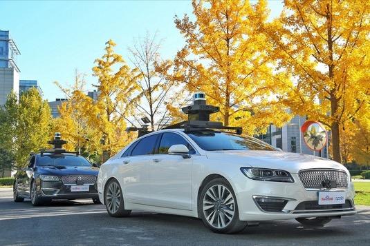 Robotická auta Baidu