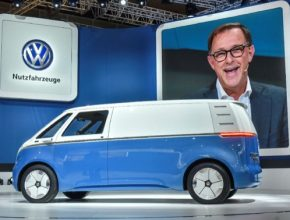 Volkswagen I.D. Buzz Cargo, lehký užitkový vůz s nulovými emisemi, promítá koncept Transporteru do budoucnosti