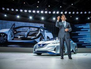 auto elektromobily Nissan IDS Carlos Ghosn šéf Nissanu