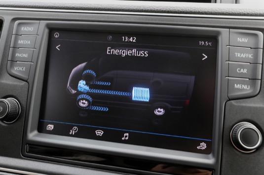 Interiér Volkswagen e-Crafter