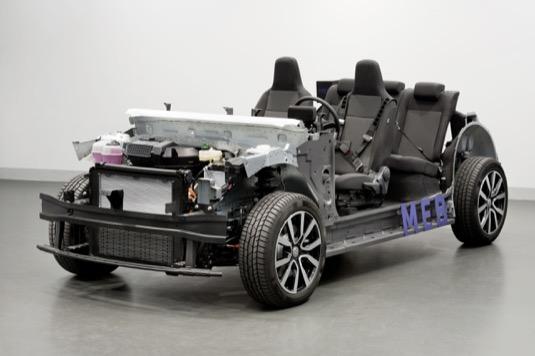 auto Volkswagen platforma MEB