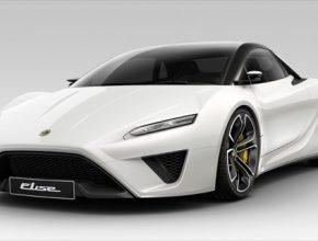 auto elektromobil Lotus Elise concept