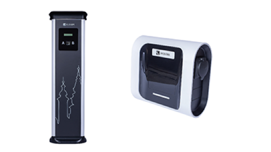 Nabíječky eVolve Smart a WallBox eNext (zleva)