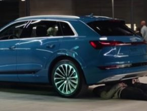 Auto elektromobil Audi e-tron The Electric Car Guy