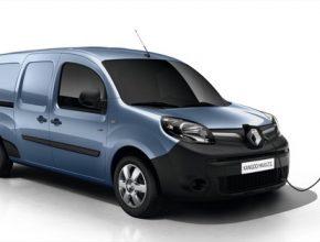 auto elektromobil elektrododávka elektrická dodávka Renault Kangoo Maxi Z.E.