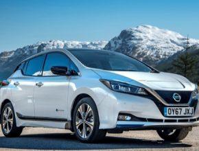 auto elektromobil nový Nissan Leaf 60kWh