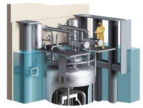 Malý jaderný reaktor společnosti NuScale