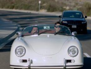 auto elektromobil přestavba Porsche 356A Speedster
