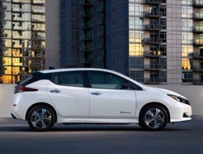 auto elektromobil Nissan Leaf e Plus