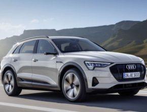 auto elektromobil Audi e-tron