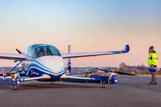 Boeing NeXT PAV osobní přepravní dron