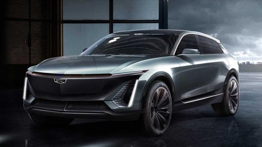 auto elektromobil Cadillac EV