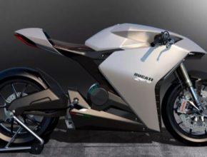 elektrická motorka elektromotorka Ducati Zero