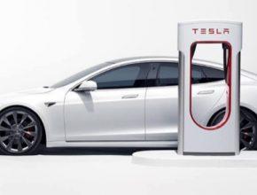 auto elektromobily Tesla Model S zvýšení ceny elektřiny u Superchargerů