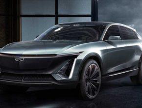 auto elektromobily GM General Motors Cadillac BEV3 SUV EV
