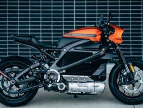 auto elektromotorka Harley-Davidson Livewire elektrická motorka CES 2019