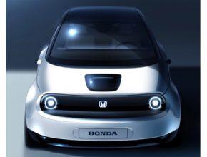 auto Honda prototyp elektromobilu