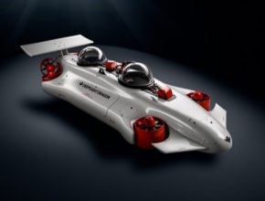 elektrická ponorka DeepFlight Dragon