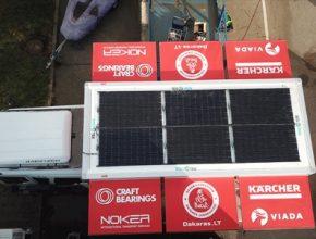 Solární panely jsou speciálně navrženy pro jihoamerické klima.