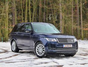 auto plug-in hybrid Range Rover PHEV