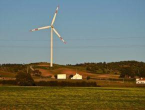 větrná elektrárna turbína Portugasko