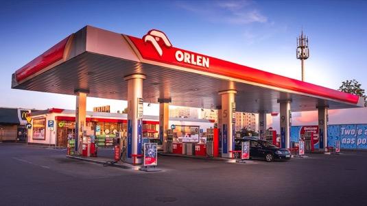 auto čerpací stanice PKN Orlen Polsko rychlonabíjecí stanice