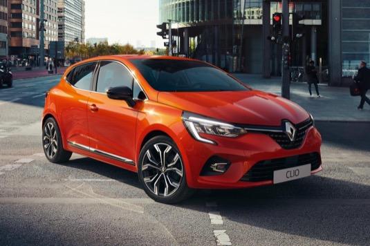 auto autosalon Ženeva 2019 nový Renault Clio Hybrid E-Tech