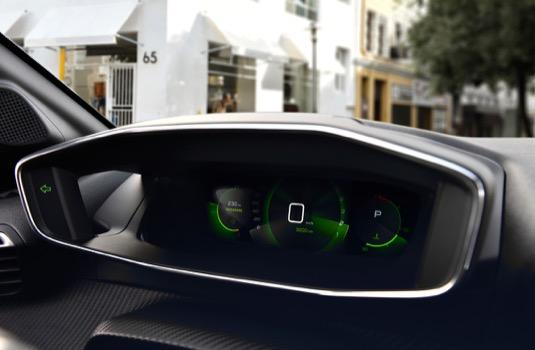 Interiér nového Peugeotu e208