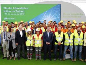 solární elektrárna Španělsko Iberdola fotovoltaika