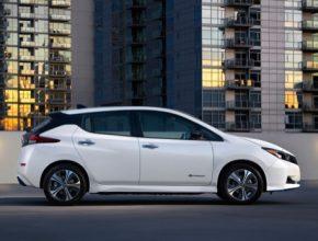 auto elektromobily Nissan Leaf e+