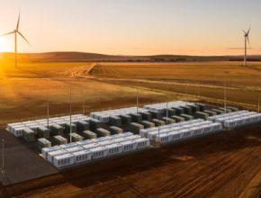 baterie Hornsdale větrná elektrárna baterie Tesla