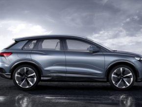 auto elektromobil autosalon Ženeva 2019 Audi Q4 e-tron