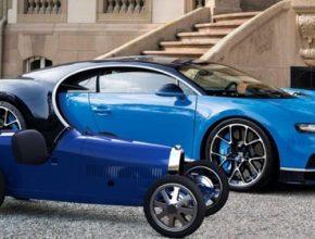 auto elektromobil Bugatti Baby Bugatti Chiron