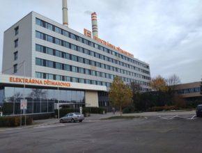 elektrárna ČEZ Dětmarovice zateplení budovy obálky pláště fasáda