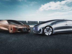 auto BMW Daimler autonomní robotické řízení elektromobily