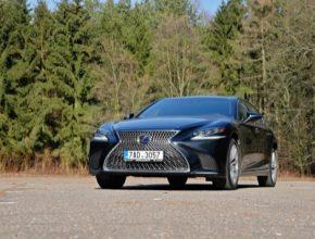 auto hybrid Lexus LS 500h