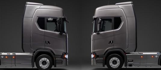 nákladní auta kamiony spoiler spotřeba