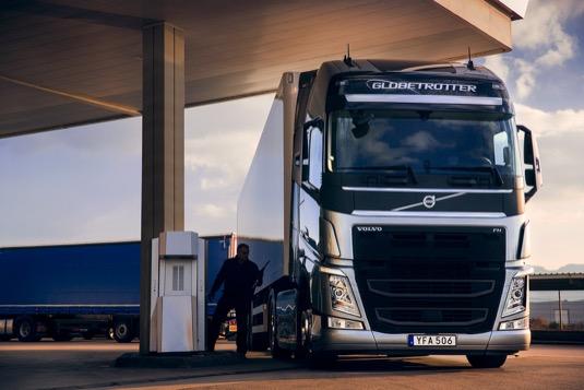 auto Volvo FH snížení spotřeby