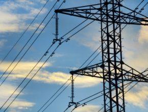 rozvodná síť stožár vysokého napětí