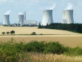 jaderná elektrárna Dukovany Česká republika ČEZ