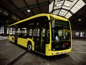 auto elektrobus elektrický autobus Mercedes-Benz eCitaro