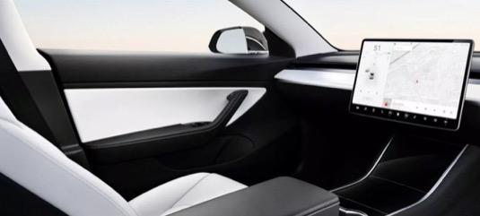 auto Robotaxi elektromobil Tesla bez volantu