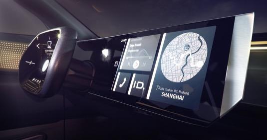 Koncept elektromobilu Volkswagen I.D. Roomzz