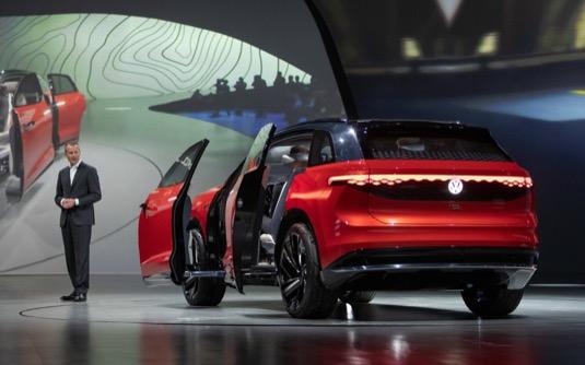 Autosalon Šanghaj: představení elektromobilu Volkswagen I.D. Roomzz