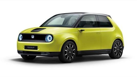 auto elektromobil Honda e