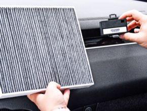 Cestující mohou v reálném čase kontrolovat kvalitu vzduchu v interiéru prostřednictvím informačního, zábavního a navigačního systému vozidla.