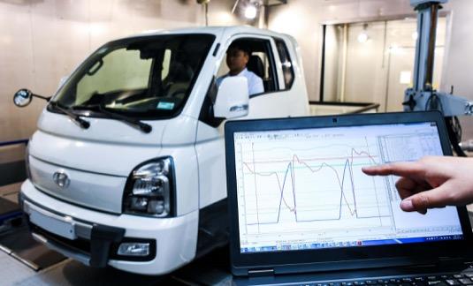 Lehké užitkové elektromobily Hyundai