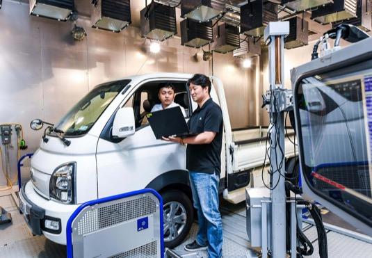 auto Hyundai lehké užitkové elektromobily