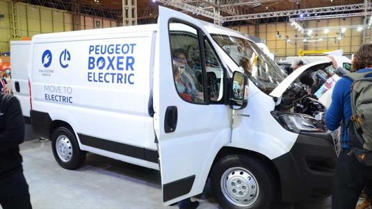 auto elektromobil elektrická dodávka Peugeot Boxer Electric
